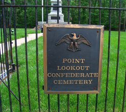 Point Lookout Confederate Cemetery