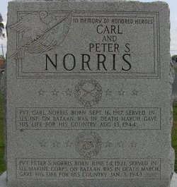 PFC Peter Sampson Norris