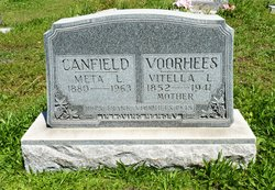 """Emmette Louise """"Meta"""" <I>Voorhees</I> Canfield"""