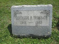Gertrude H. Trimbath