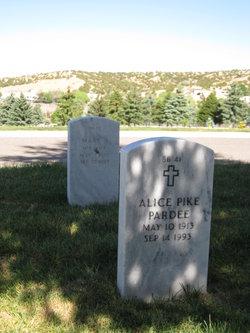 Alice <I>Pike</I> Pardee