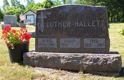 Goldie E. <I>Presley</I> Hallett