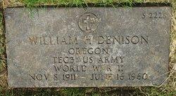 William H Denison