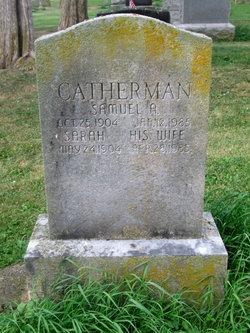 Sarah <I>Griffin</I> Catherman