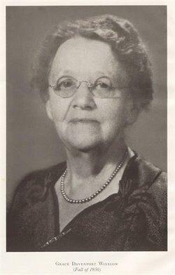 Grace Coolidge <I>Davenport</I> Winslow