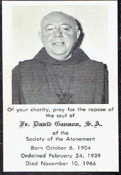 Rev Fr David Gannon