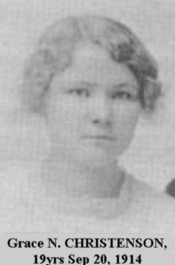 Grace Nettie <I>Christensen</I> Brownlee