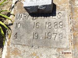 Mary <I>Battle</I> Barnes