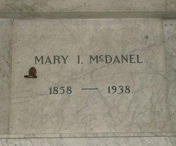 Mary I <I>Cushman</I> McDanel