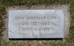 "Matilda Bernardina ""Dena"" <I>Anderson</I> Lund"