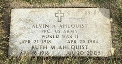 Alvin A Ahlquist