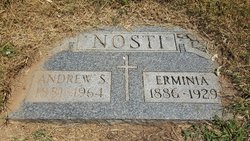 """Erminia """"Minnie"""" <I>Serra</I> Nosti"""