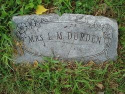 Lizzie Mae <I>Robinson</I> Durden