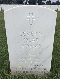 "Levern Olaf ""Lee"" Adams"