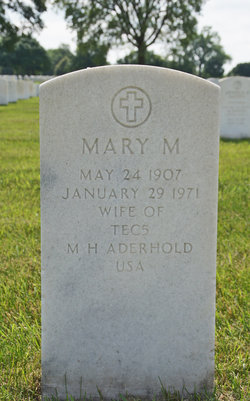Mary M Aderhold