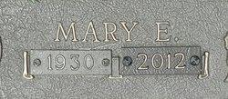 Mary E <I>Jarrell</I> Bevil