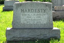 Lucy Sharon <I>Theaker</I> Hardesty