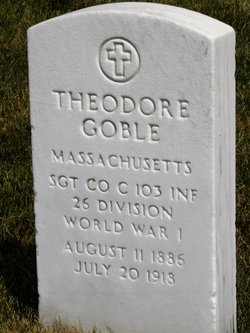 SGT Theodore Goble
