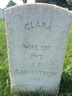 Clara <I>Bolton</I> Garrettson