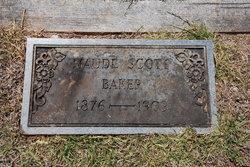 Maude <I>Scott</I> Baker