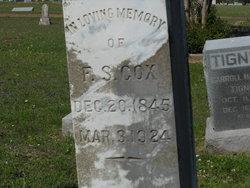 Frank S Cox