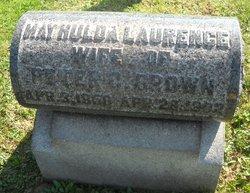 May Hulda <I>Laurence</I> Brown