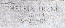 Thelma Irene <I>Thomas</I> Burkhalter