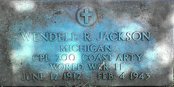 CPL Wendell Russell Jackson