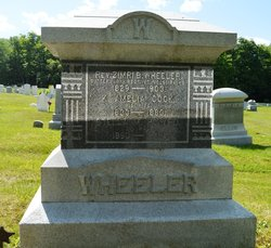 Rev Zimiriah B Wheeler