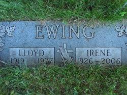 Irene M <I>Wojda</I> Ewing