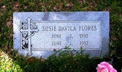 """Jesusa """"Susie"""" <I>Davila</I> Flores"""