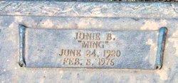 "Junie Blanche ""Ming"" <I>Walker</I> Bonds"