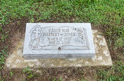 Callie Mae <I>Harbert</I> Jones