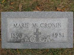 Marie M <I>McCarty</I> Cronin