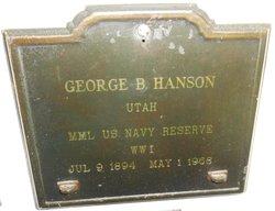 George Berkeley Hanson (1894-1968) - Find A Grave Memorial