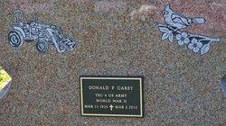 Donald F. Carey