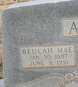 Beulah Mae <I>Parker</I> Akins