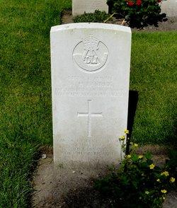 Private William Harold Barrick