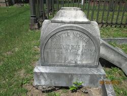 Susette Rebecca <I>Newell</I> Adams
