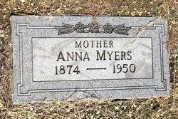 Anna <I>Price</I> Myers