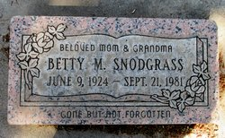 Bette Martha Snodgrass