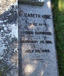 Elizabeth Anne <I>Mills</I> Harwood