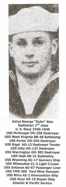 """Julius G """"Duke"""" Alex"""