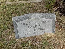 Lillian Catherine <I>Carney</I> Farris