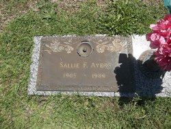 Sallie Jane <I>Fulford</I> Ayers