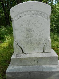 Sarah E. <I>Norton</I> Ball