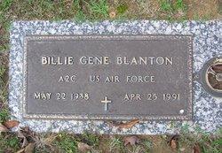 Billie G Blanton