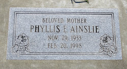 Phyllis Evelyn <I>Peine</I> Ainslie