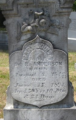 "Mary Louisa ""Lucy"" <I>Forrest</I> Anderson"