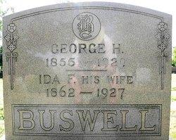 Ida Frances <I>Bulson</I> Buswell